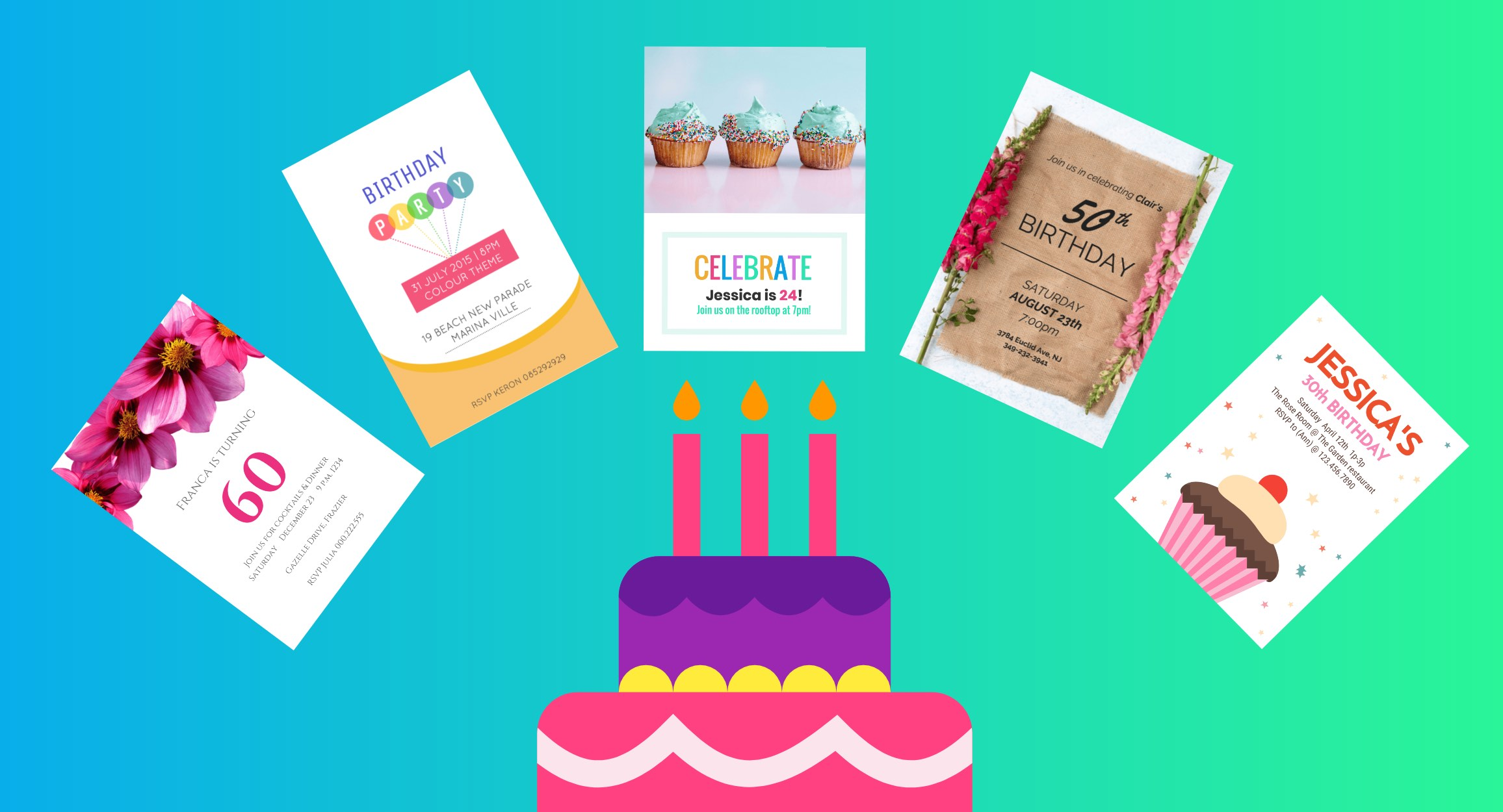 Party Invitations For Your Celebration