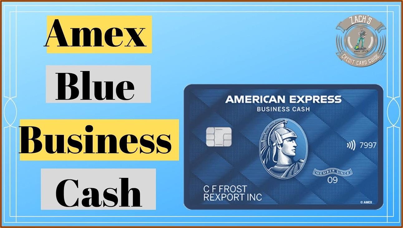 Amex Blue Cash Business Card