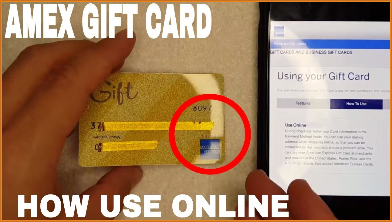 Amex Small Business Gift Card