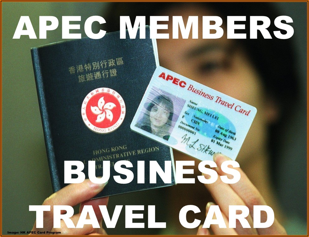 Apec Business Travel Card Singapore