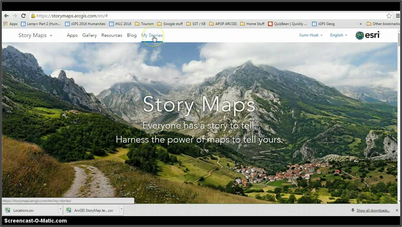 Arcgis Story Map Gallery
