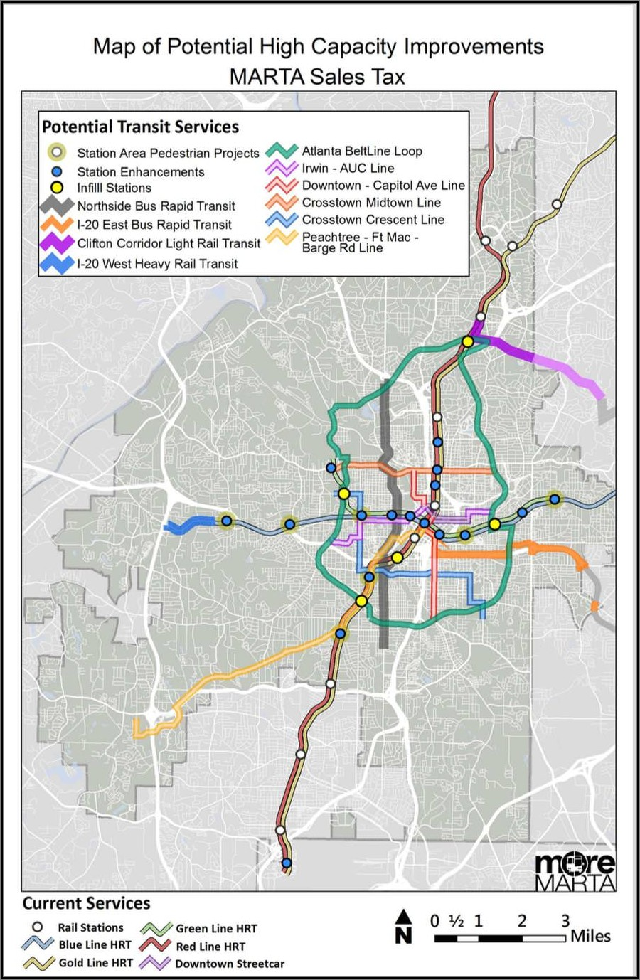 Atlanta Beltline Map Pdf