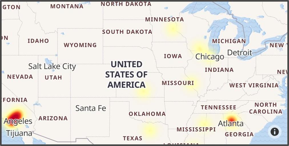 Att Internet Outage Map Michigan