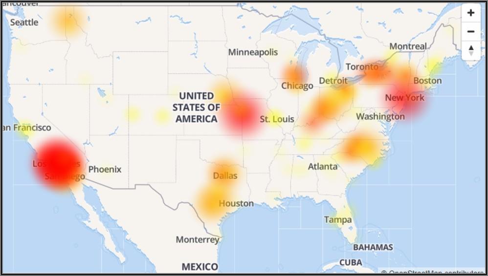 Att Internet Outage Map Oklahoma