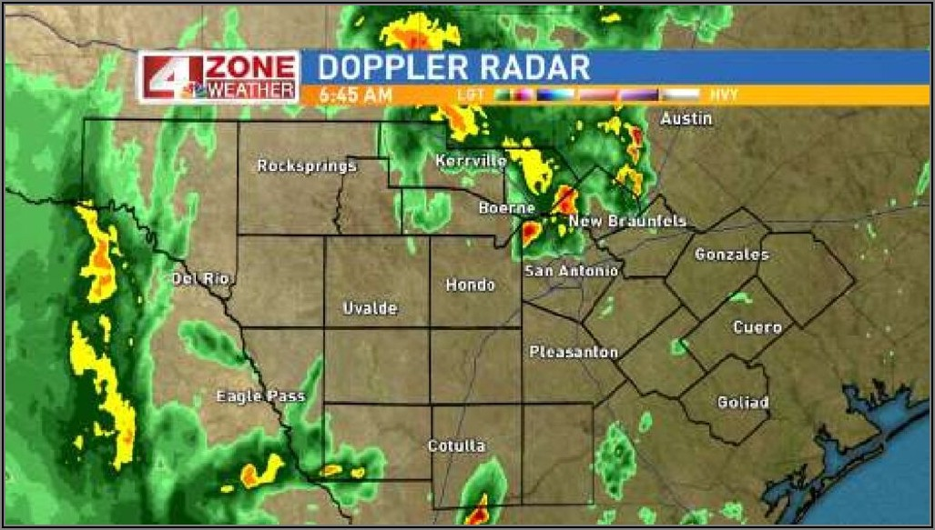 Austin Texas Weather Radar Map
