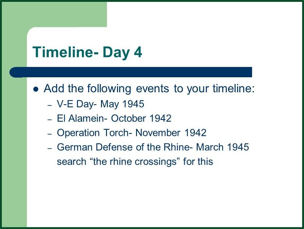 Battle Of The Bulge Timeline Events
