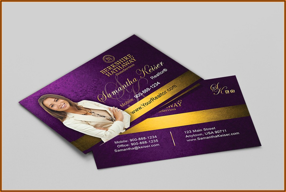 Berkshire Hathaway Homeservices Business Cards