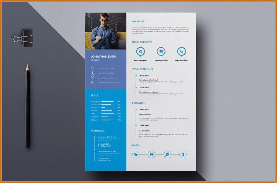 Best Resume Templates For Microsoft Word