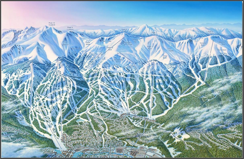 Breckenridge Ski Map 2019