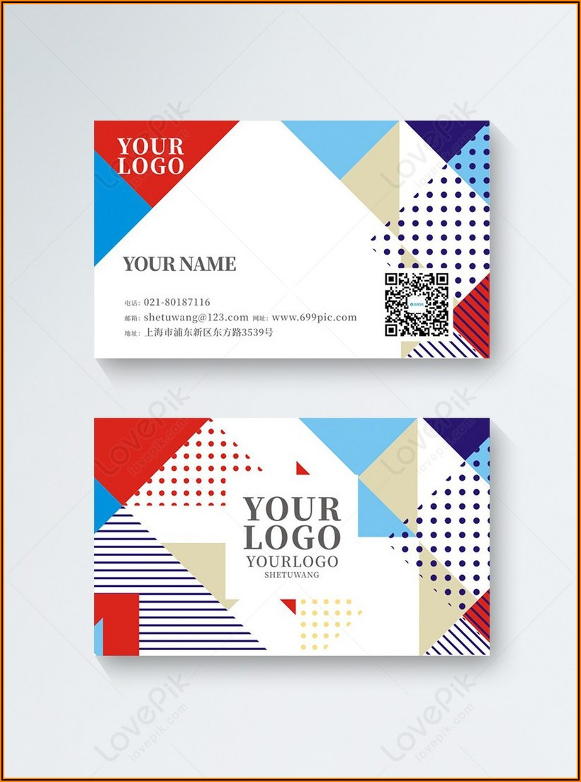 Business Card Design Cdr File Free Download
