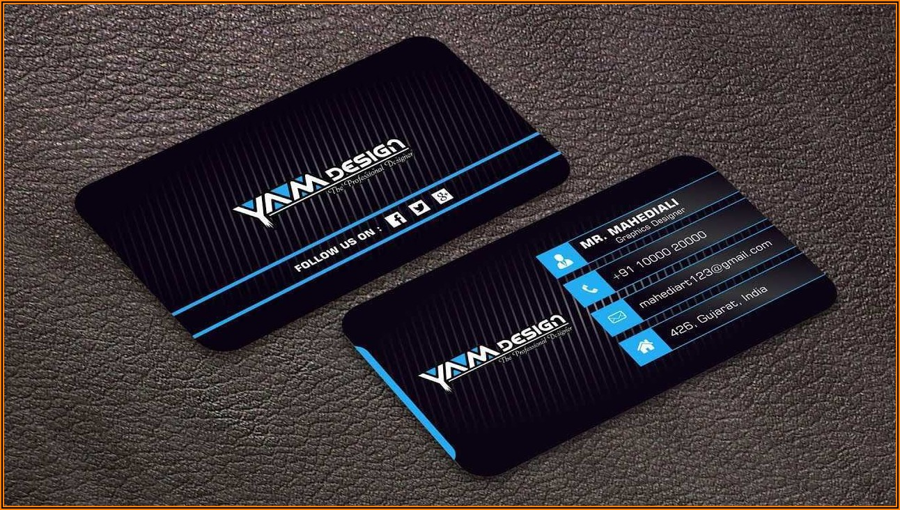 Business Card Design Cdr Free Download