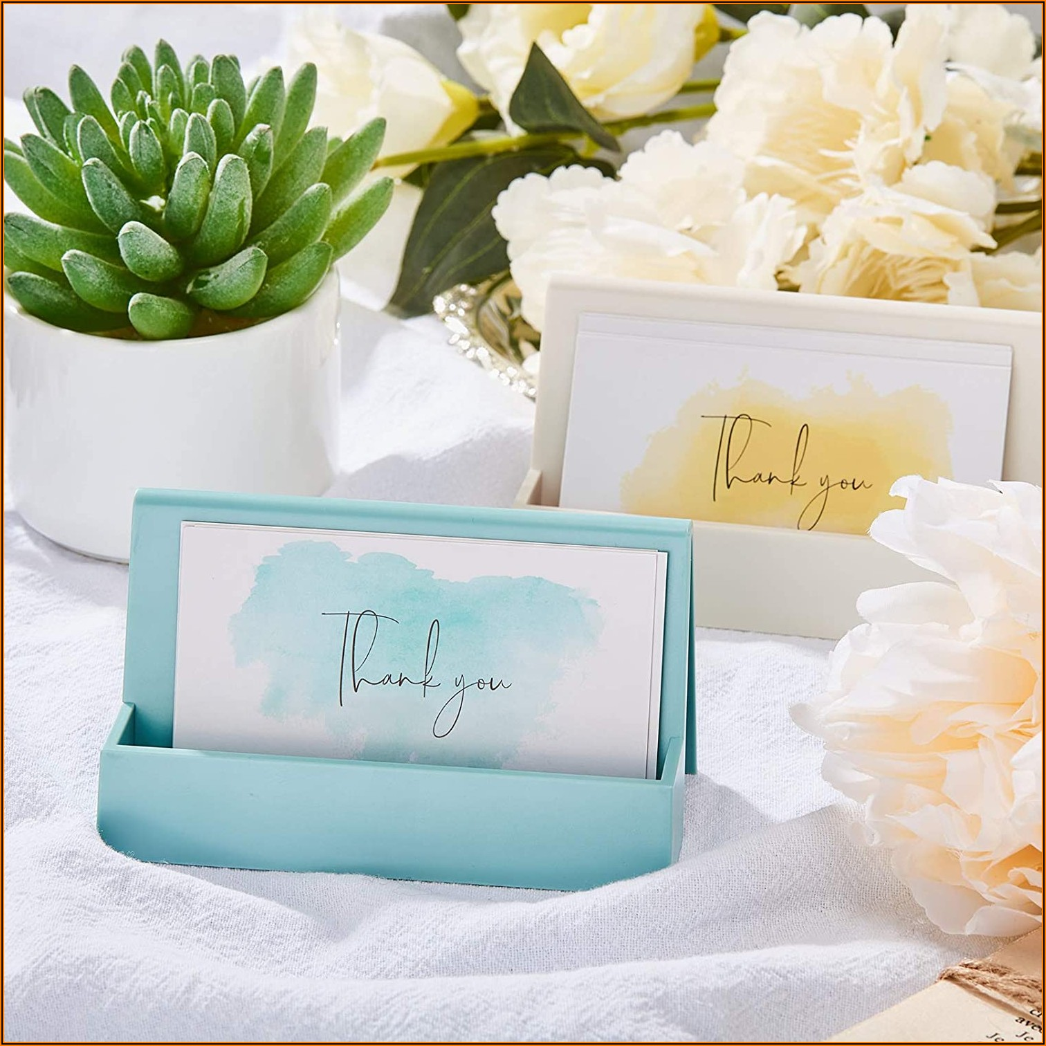 Business Card Holder For Desk Woman