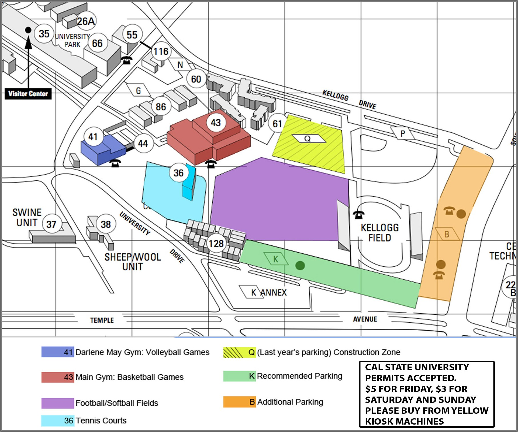Cal Poly Pomona Campus Map