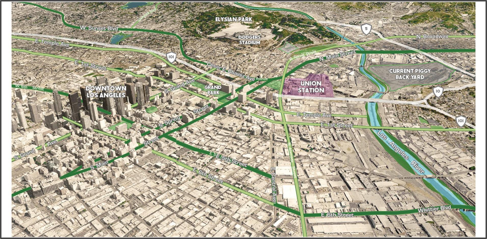 Cal Poly Pomona Shuttle Map