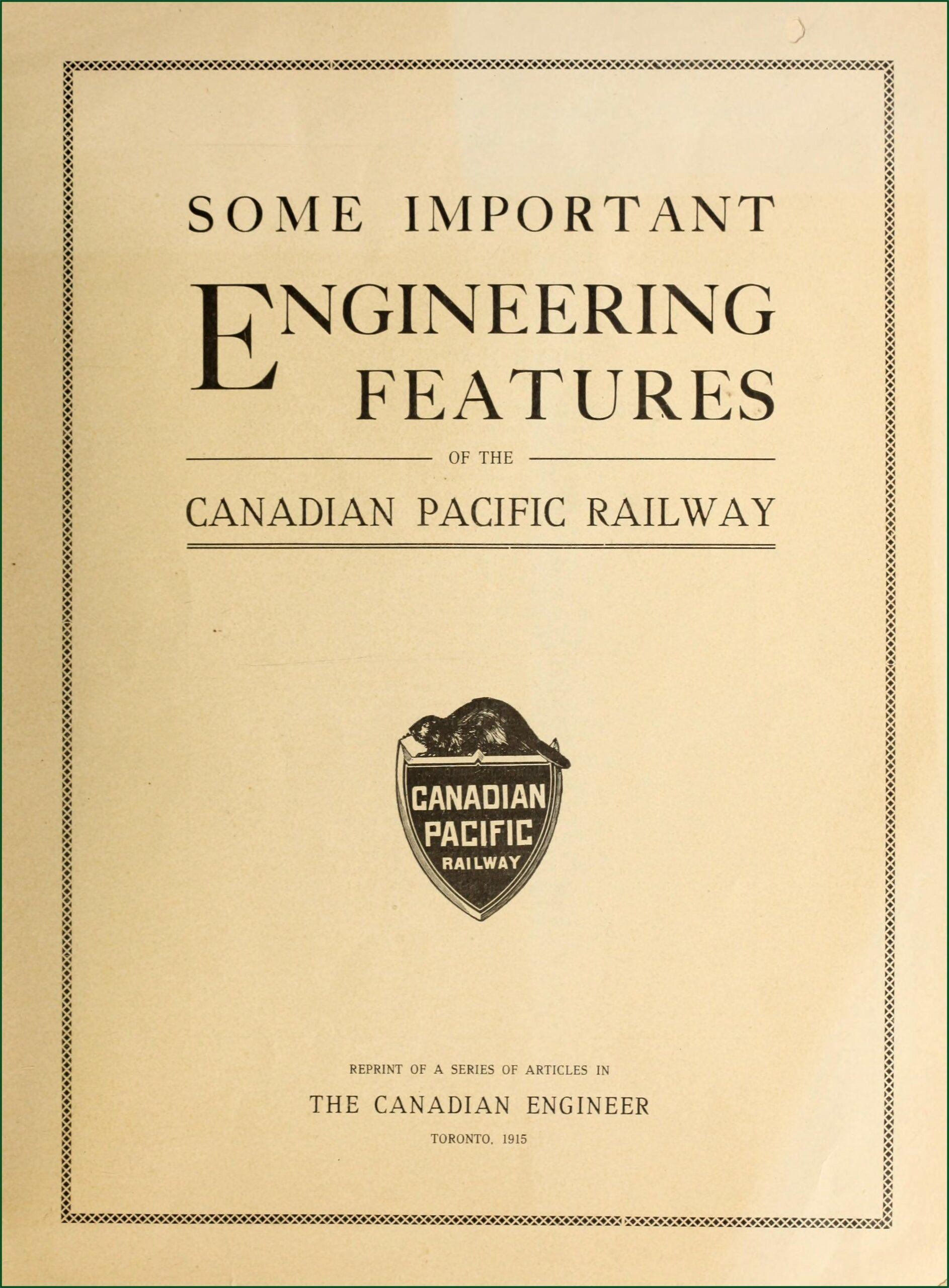 Canadian Pacific Railway Timeline Prezi