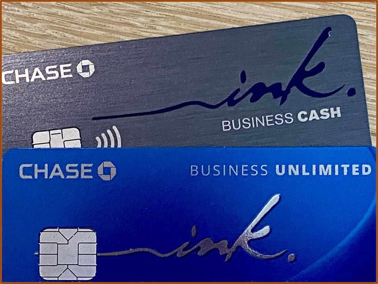 Chase Ink Cash Business Card Application