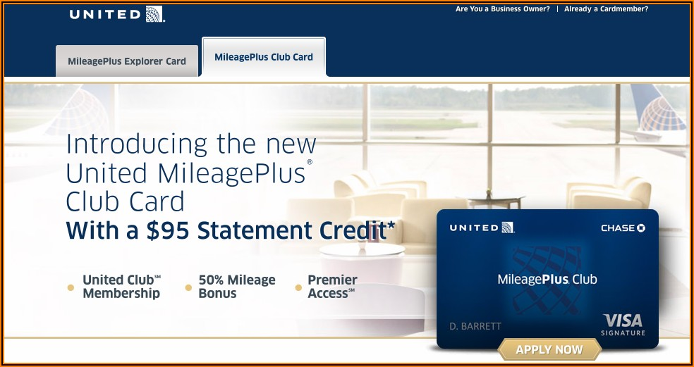 Chase United Mileageplus Explorer Business Card Benefits