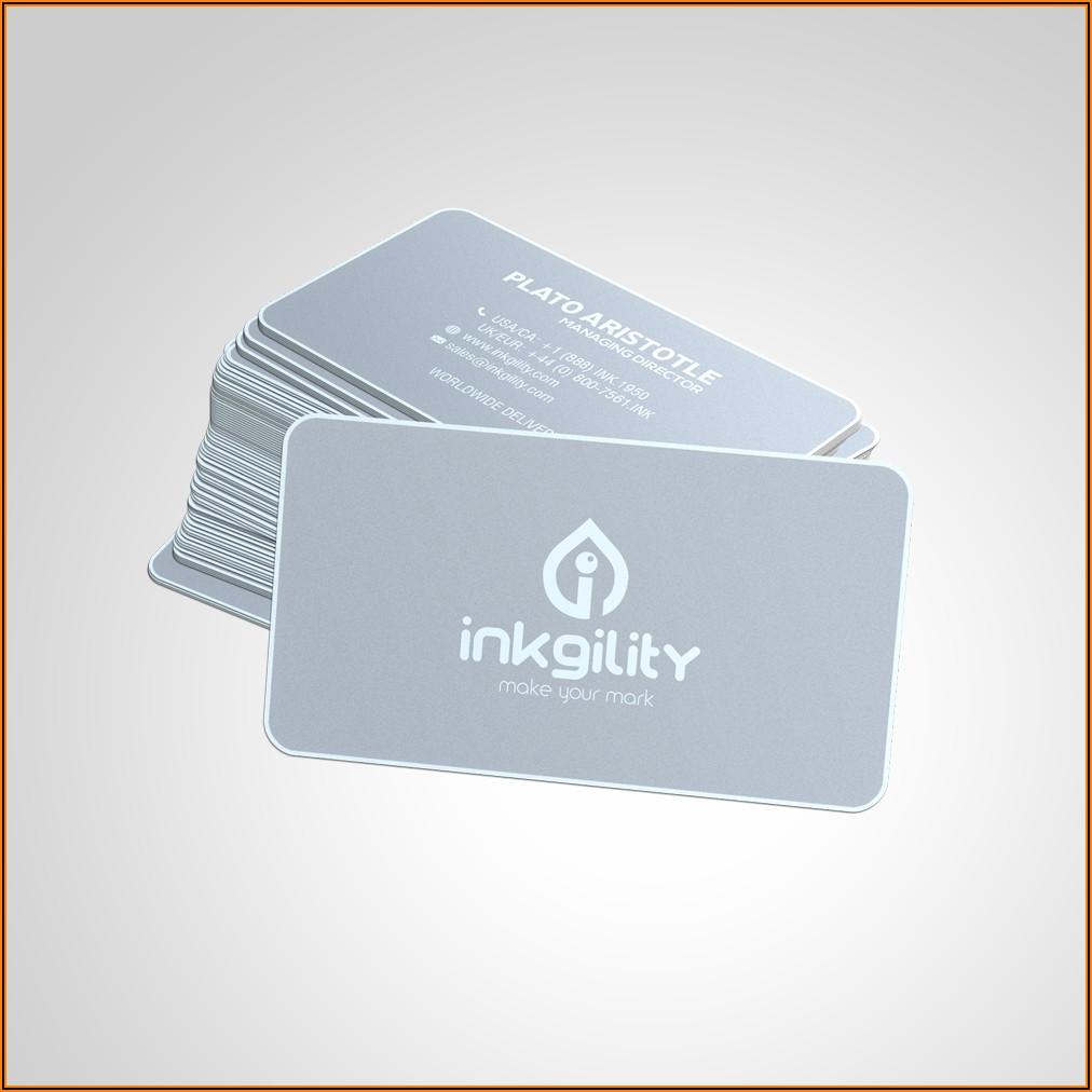 Cheap Metal Business Cards Uk