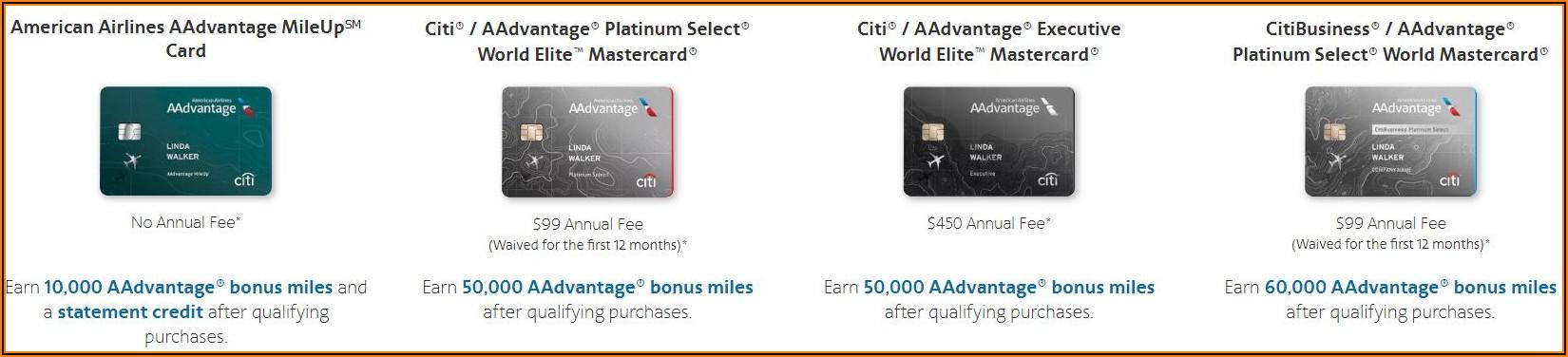Citi Cards Business Aadvantage Card