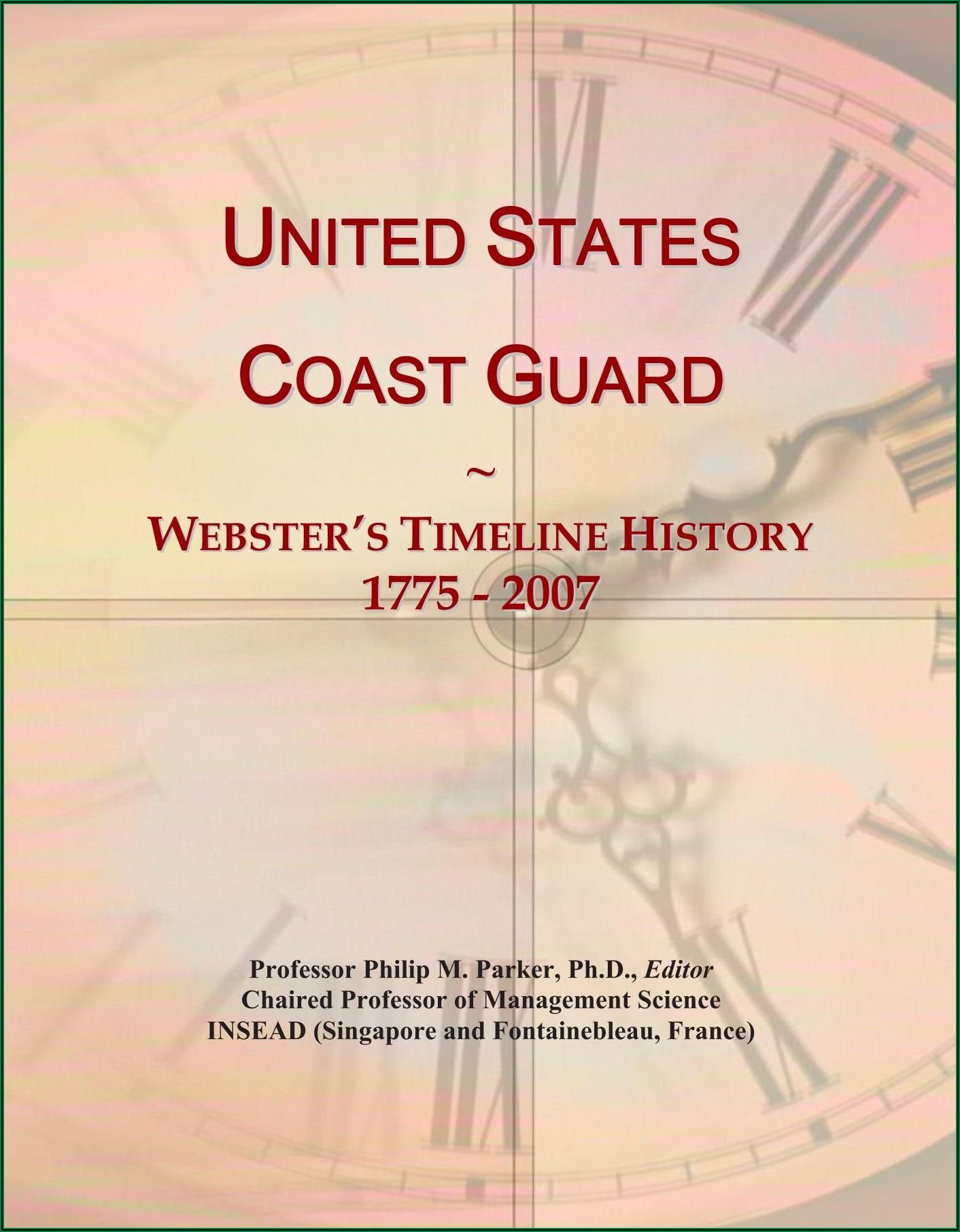 Coast Guard History Timeline