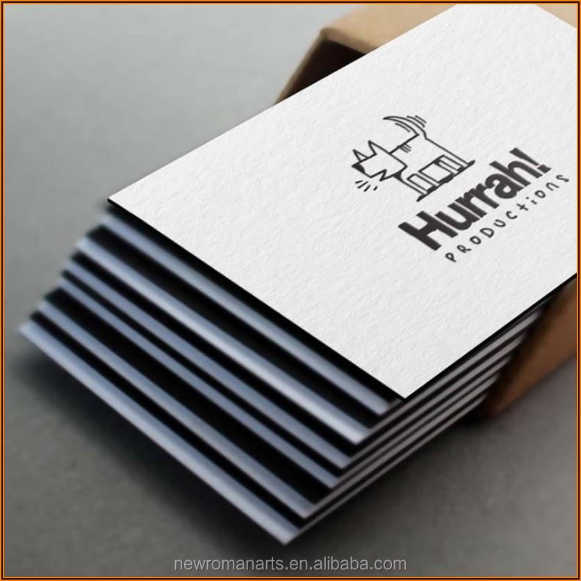 Cotton Paper Business Cards