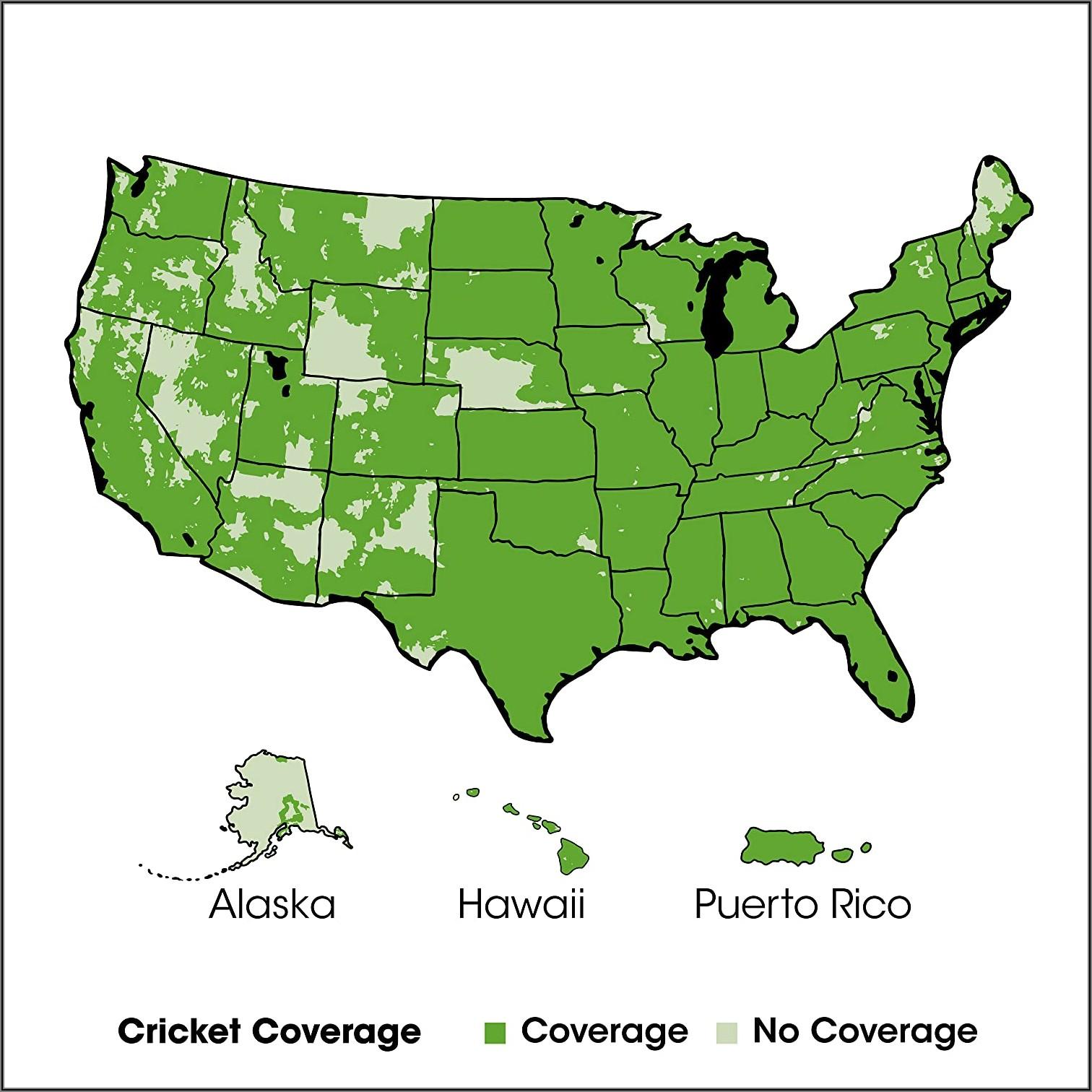 Cricket Wireless Coverage Map Canada