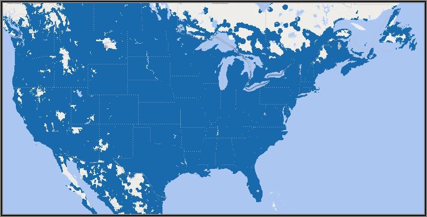 Cricket Wireless Coverage Map Florida