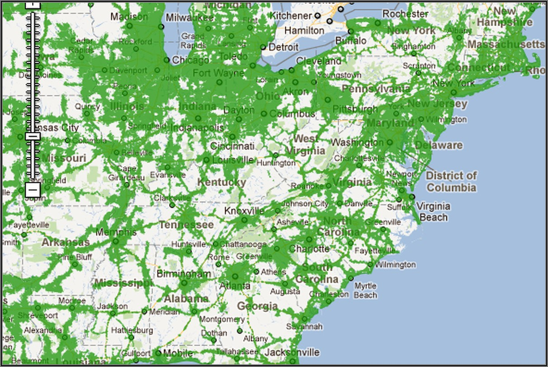 Cricket Wireless Coverage Map Georgia