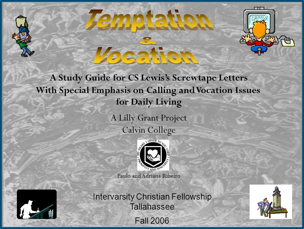 Cs Lewis Screwtape Letters Study Guide