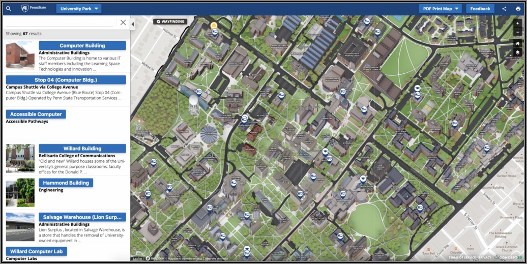 Cu Boulder Campus Map