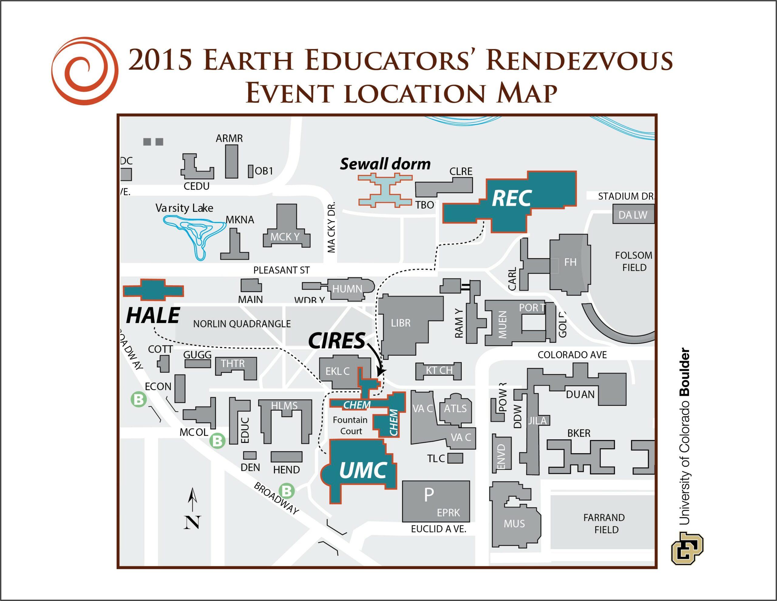Cu Boulder Housing Map