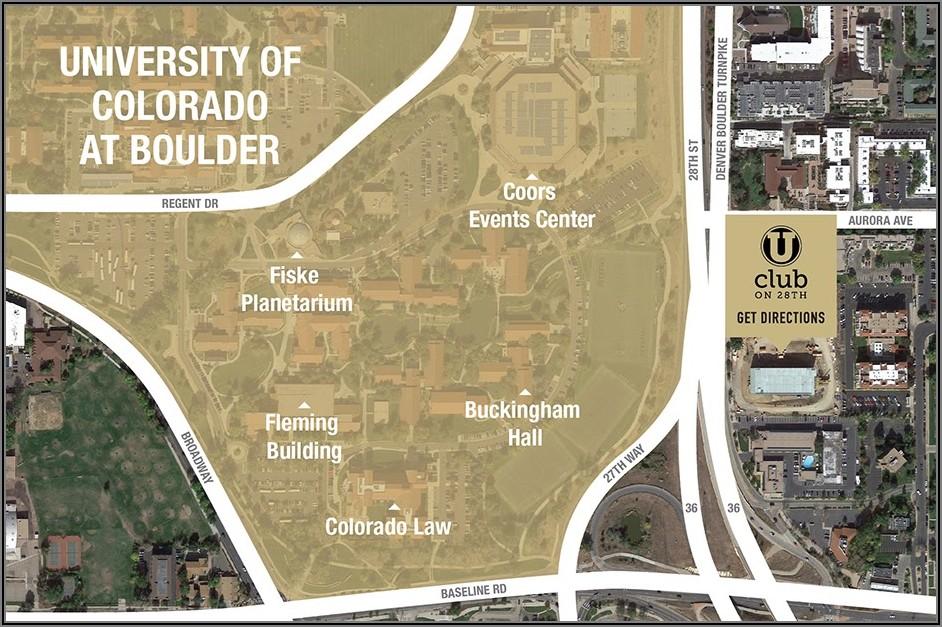Cu Boulder Map Pdf