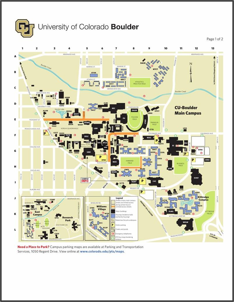 Cu Boulder Stadium Map