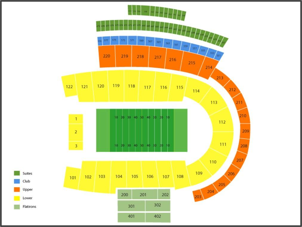 Cu Boulder Stadium Seating Chart