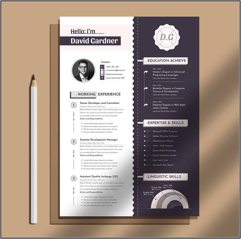 Curriculum Vitae Template For Pages Mac