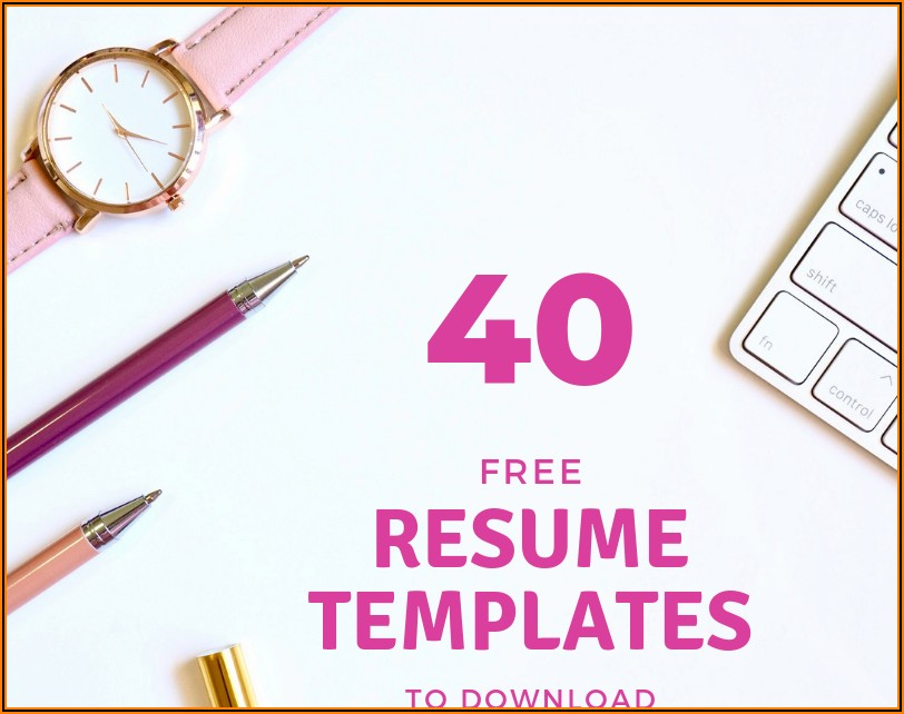 Cv Templates For Freshers Free Download Word Document