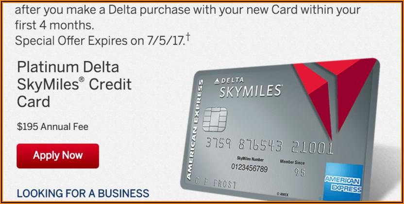 Delta Skymiles Platinum Business Card