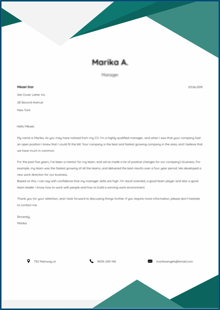 Dental Assistant Cover Letter Example