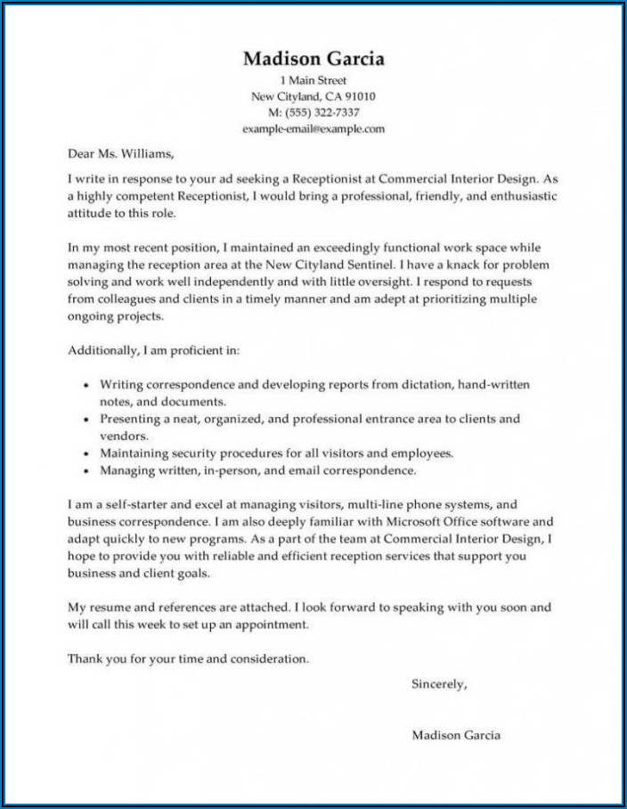 Dental Assistant Cover Letter Sample No Experience