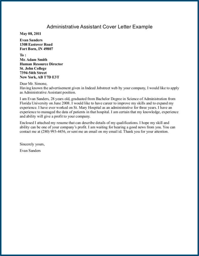 Dental Assistant Cover Letter With No Experience