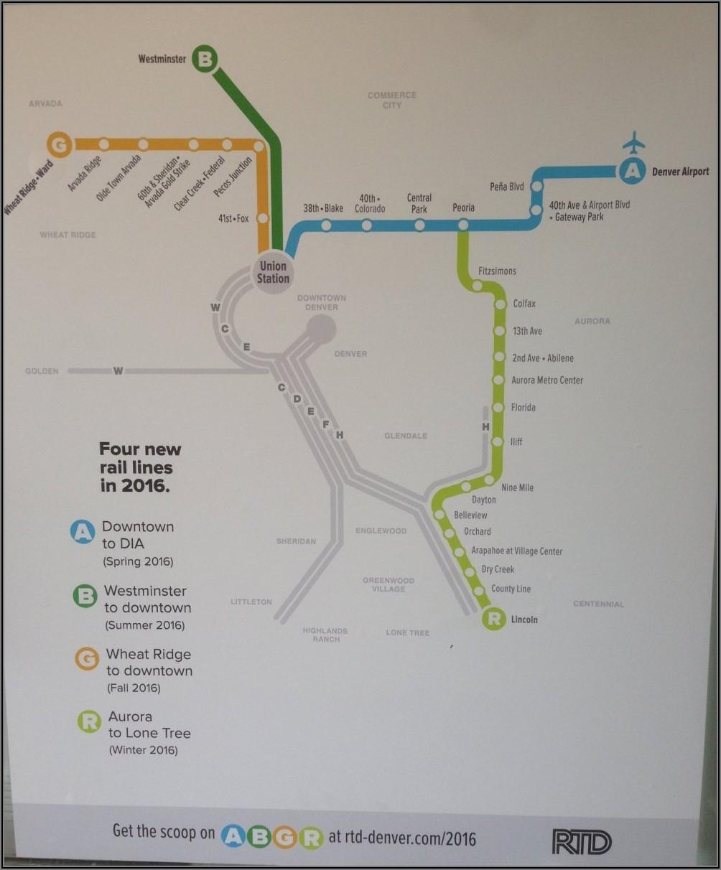 Denver Rtd Map Overlay