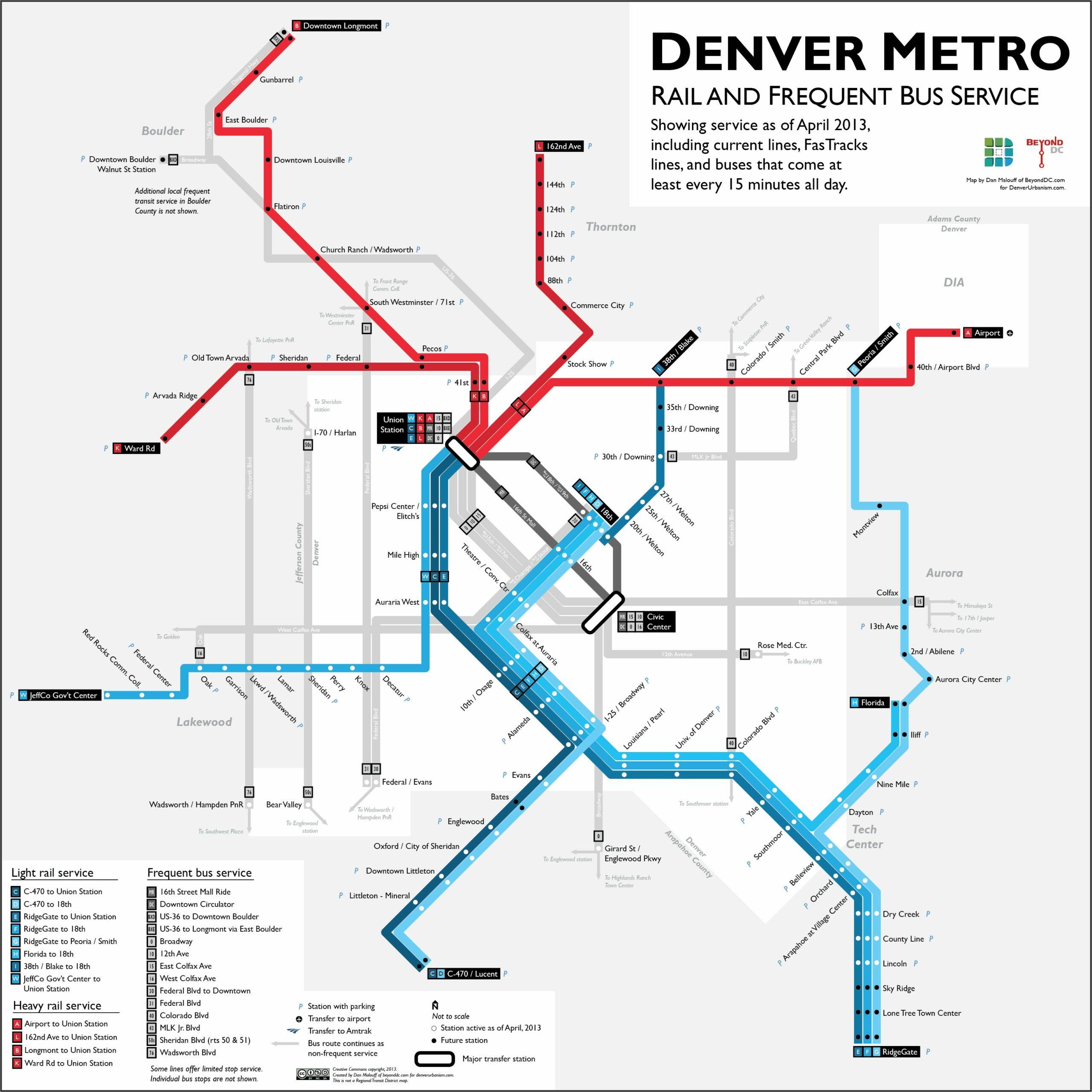 Denver Rtd Map Pdf