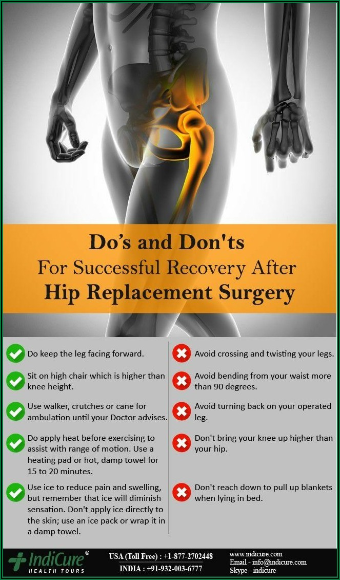Direct Anterior Hip Replacement Recovery Timeline