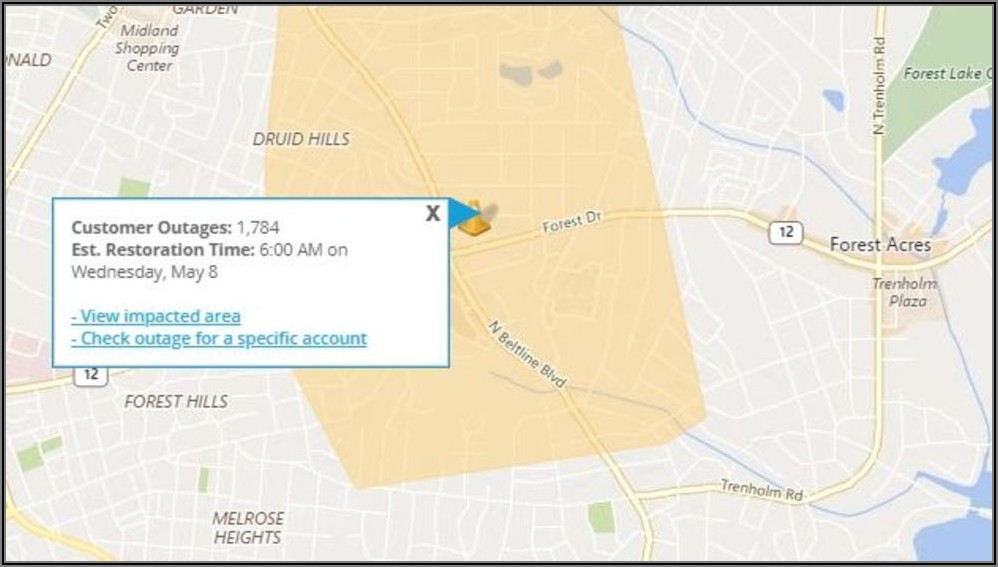 Dominion Energy Outage Map South Carolina