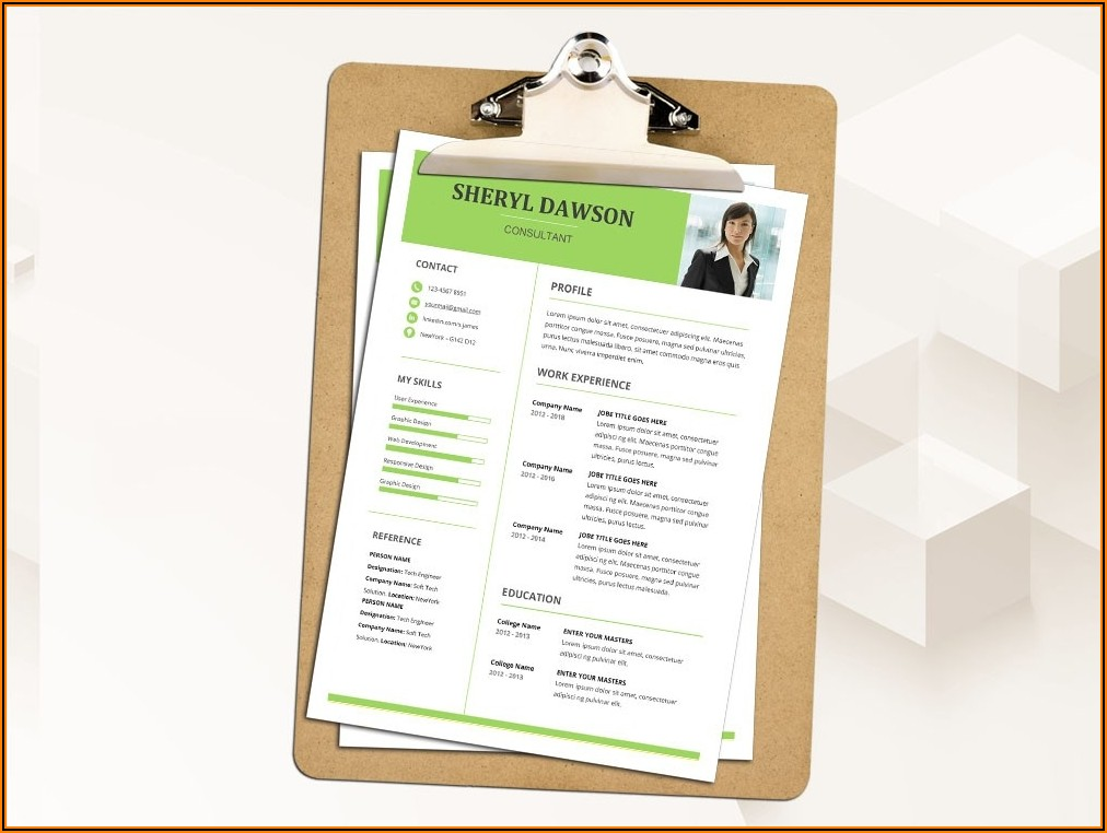 Download Microsoft Word Template For Resume