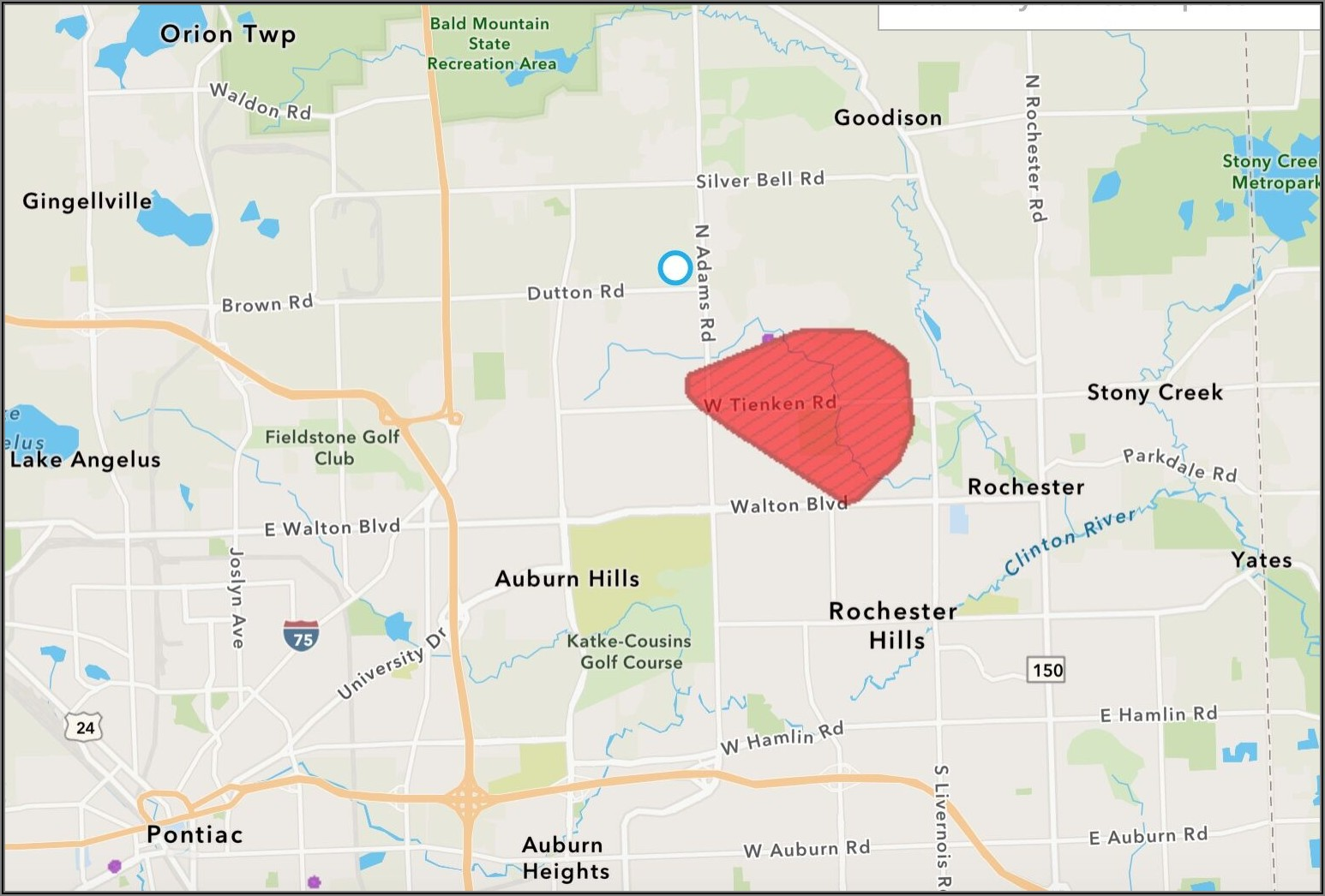 Dte Energy Power Outage Map