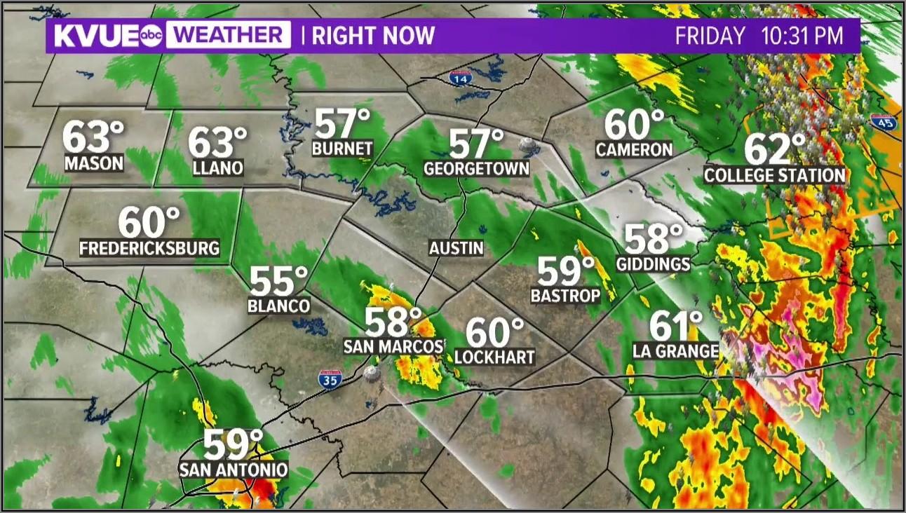 East Texas Weather Radar Map