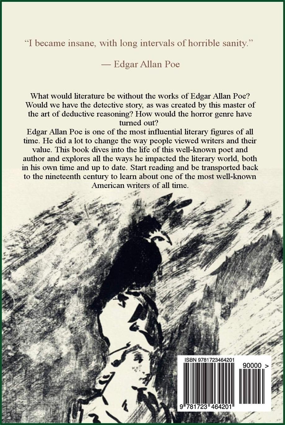 Edgar Allan Poe Life History