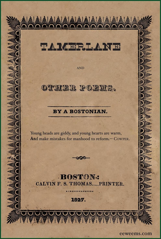 Edgar Allan Poe Life Timeline