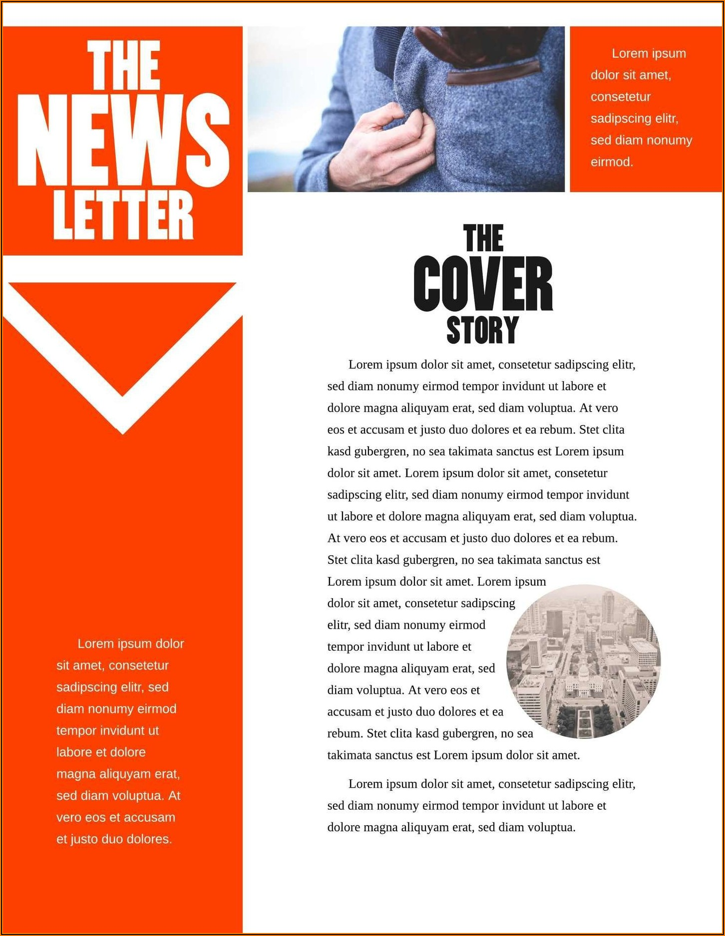 Email Newsletter Template Microsoft Word